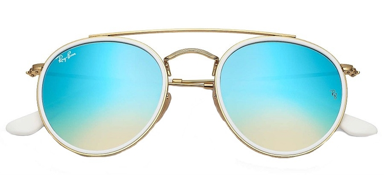 4482feba7ae0c ... RAY BAN RB 3647N 001 4O 51 ROUND DOUBLE BRIDGE - ÓCULOS DE SOL ...