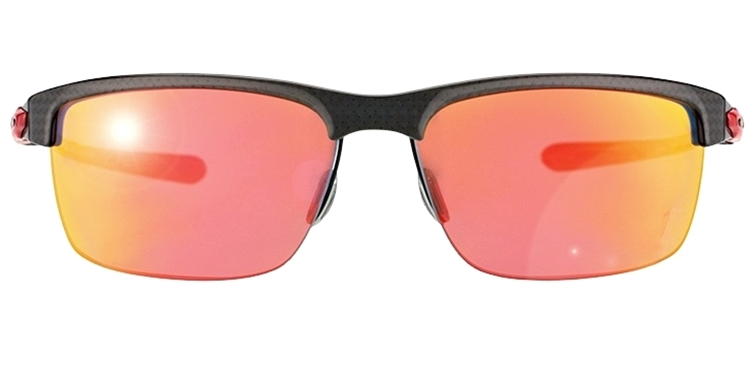 92db2f0ea2eb1 ... OAKLEY CARBON BLADE - Polished Carbon   Ruby Iridium Polarized - ÓCULOS  DE SOL ...