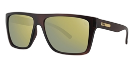 55afd92349007 HB FLOYD - Matte Brown   Gold Chrome - ÓCULOS DE SOL