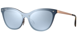 RAY BAN RB 3580N 90391U BLAZE CAT EYE - ÓCULOS DE SOL ac764ee2b2